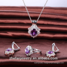 High quality jewelry set elegant accessories for women gift wedding