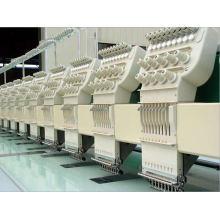12 Máquina de bordar plana de 9 cores