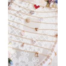 Цирконовое ожерелье BJD Heart для шарнирной куклы SD / MSD / YOSD