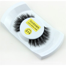 Wholesale false 100% real handmade horse hair strip eyelashes