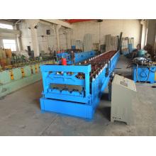 Máquina formadora de rollos de cubierta metálica