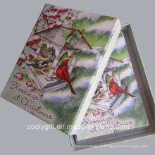 20 Tarjetas de Navidad y Envuelve Tarjetas de Navidad de Bendiciones con Embalaje de Caja de Regalo
