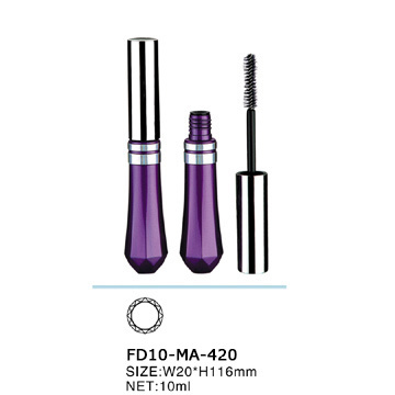 New Design 10ml elegant transparent mascara bottle