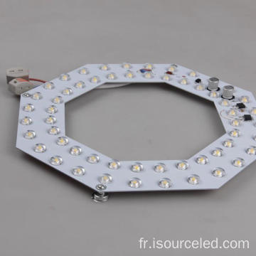 Plafond ultra mince gradateur led modules d'éclairage 18w