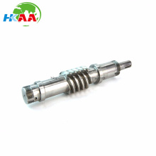 Precision CNC Machining Steel Worm Drive Shafts for The Aerospace