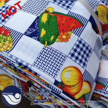 100% polyester Colorful mini matt printed fabric