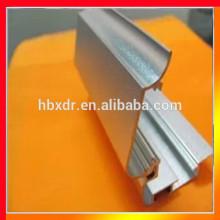 Anodized colored custom aluminum led crystal light box frame