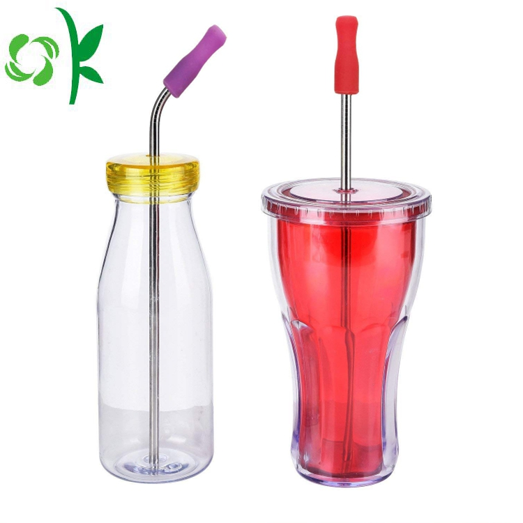 Silicone Baby Bottle Straw
