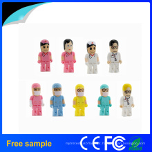2016 China fornecedor 4GB 8GB Plastic Doctor Forma USB Pendrive