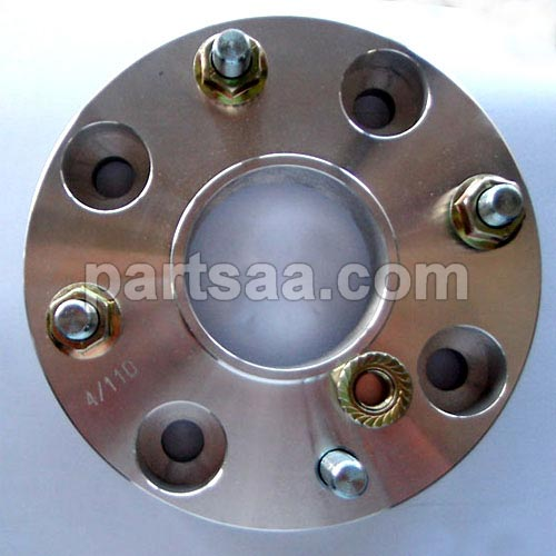 Atv Billet Adapter Round With Studs Pressed