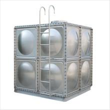 tanque de armazenamento da água da colheita da água de chuva de aço inoxidável