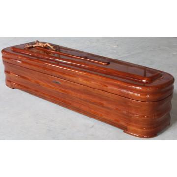Caixão de madeira maciça (US3500TF)