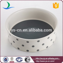 Ceramic handpaint fino pet produtos pet tigela alimentador