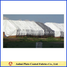 Custom waterproof UV-resistant hay bale tarps