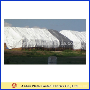 Tear-Resistant Rainproof Poly Hay Cover