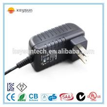 Wandmontage 12v 1000mA direktes Steckernetzteil mit 2,1mm Stecker