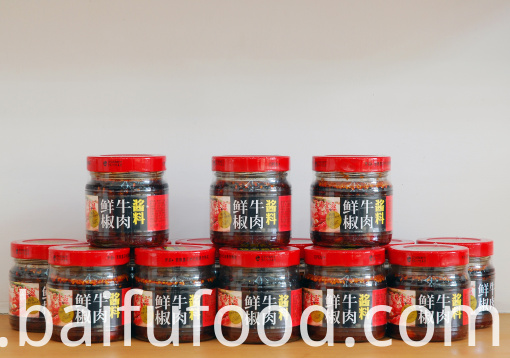 Fresh pepper beef sauce 200g