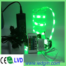 DC12V 30LEDs / M 36W RGB Color 5050 RGB Tira de luz LED flexible