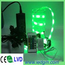 DC12V 30LEDs / M 36W RGB Cor 5050 RGB Fita de Luz LED Flexível