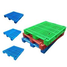 KL virgin plastic pallet logistics Grid plastic tray use to Forklift plastic pallet, pallet shelving/