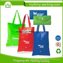 Soem pp.-Förderung-Einkaufsfalte nicht gesponnene Tasche