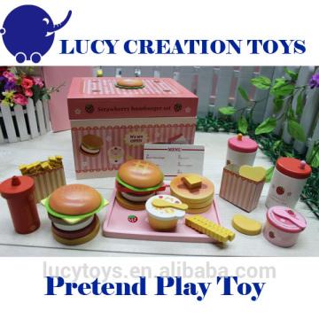 Kinder Wooden Pretend Spiel Spielzeug