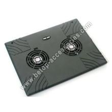 Iron Laptop Cooler 2 Fan