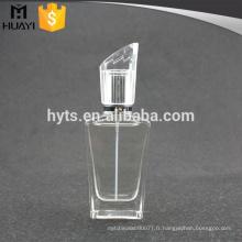 Usine de bouteille de verre de parfum de bonne qualité de 80ml