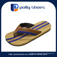 Sandálias de prata preto original masculina tanga flip flop tamanho 9