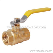 Two-piece Full Port Brass Ball Valve Threaded