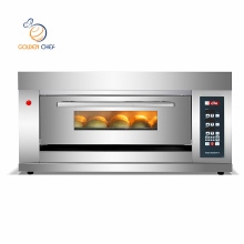 gas bread machine 1deck 3trays table top deck bread oven gas oven for bread baking oven machine