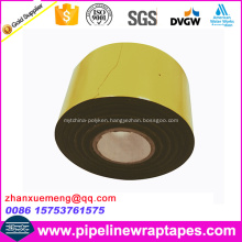 0.75mm Thickness bitumen Rubber Pipe Wrap Tape with PVC Backing