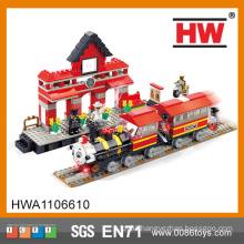 ABS Material COGO Block City Set 464PCS Mini Train