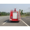 Dongfeng 3Ton used tiller fire trucks for sale