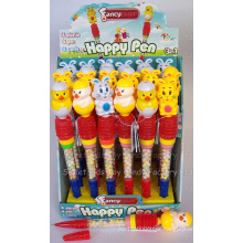 Whistle Rabbit and Chicken Pen Toy Candy (100503)