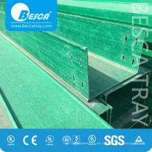Bandeja de cables FRP / GRP - Bandeja de rejilla portacable fabricante (fibra de vidrio)