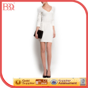 Summer Tulip Short Sleeve Office Lady Dresses (130147)