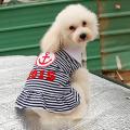 New Custom Anchor Stripe Summer Spring Pet Puppy clothes dog dress