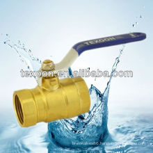 forged NPT full port brass ball valve with new bonnet steel handle CE FM UL IAPMO