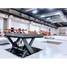 lift platform assembly line