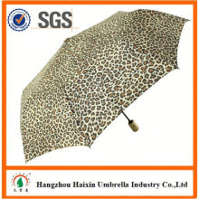 Spezielle Druck gerade Holz Auto Regenschirm mit Logo