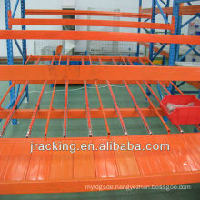 Q235 gear carton flow rack ,lean manufacturing gravity flow racks