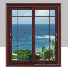 Modern Style Horizontal Sliding Aluminum Windows with Insulating Glass