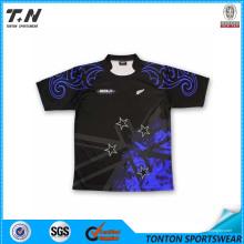 Custom Made Team Логотип и имя Крикет Джерси Оптовая