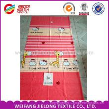 150d полиэстер ткань ткань напечатанная 65gsm самый дешевый для Простыня