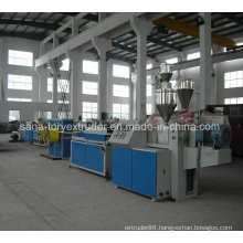 16-40mm PVC/PE Plastic Single-Wall Corrugated Pipe Extrusion Line