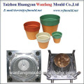 oem customized plastic flower pot injection mould/garden flower pot mould