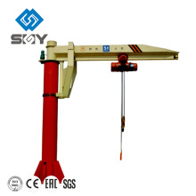 Light Duty Fixed Pillar Rotary Arm Crane For Sale
