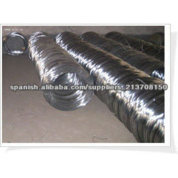 Electric galvanized iron wire manufacture