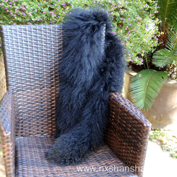 New Handmade Mongolian Lamb Fur Women Scarf